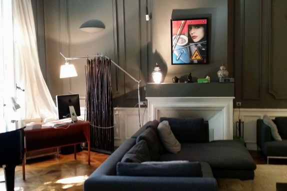 marseille 6 me appartement haussmannien rdj avec jardin centre ville pr fecture 217 m2. Black Bedroom Furniture Sets. Home Design Ideas